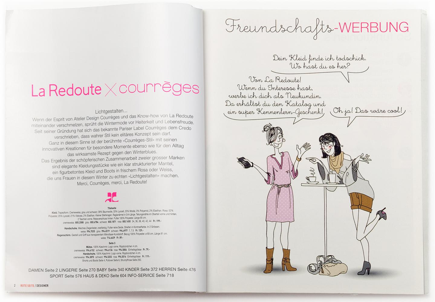 La Redoute Katalog Seite 1