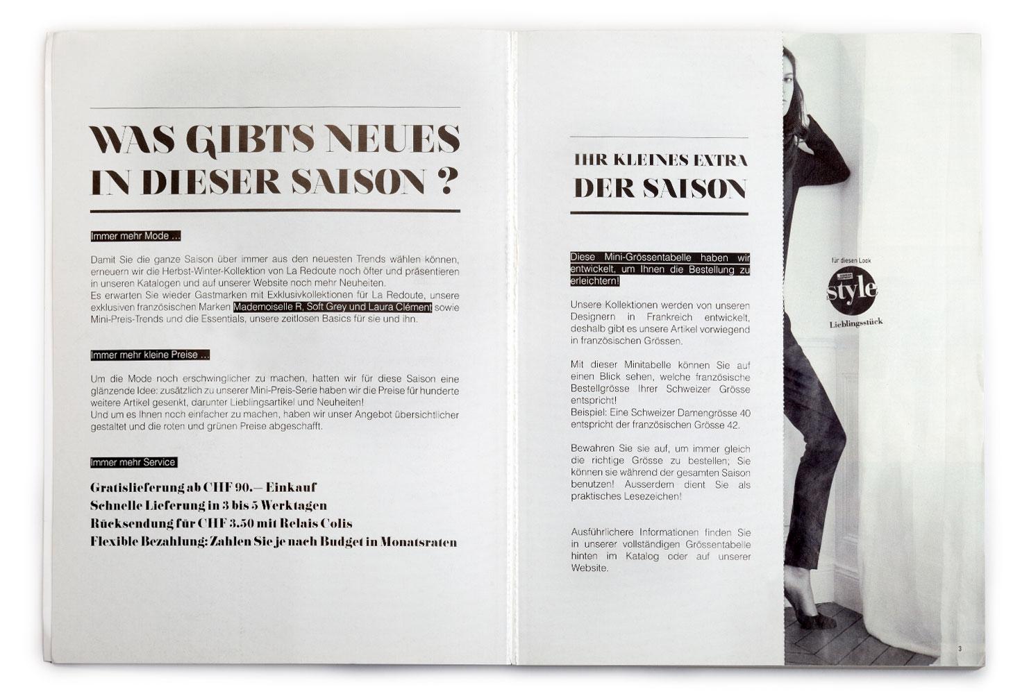 La Redoute Katalog 2014 Seite 3