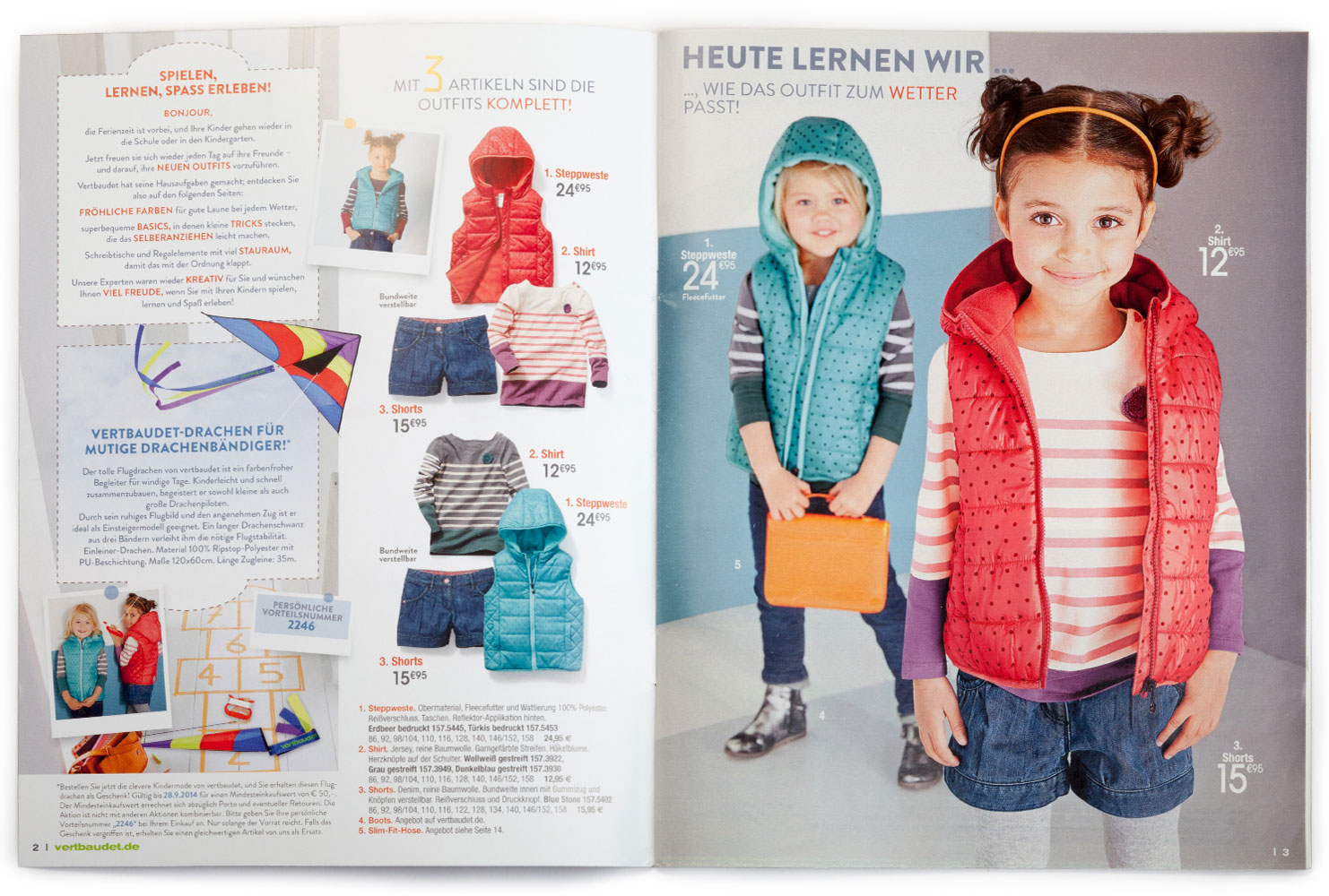 vertbaudet Katalog Kleidung 2014/15 2 Seite 2