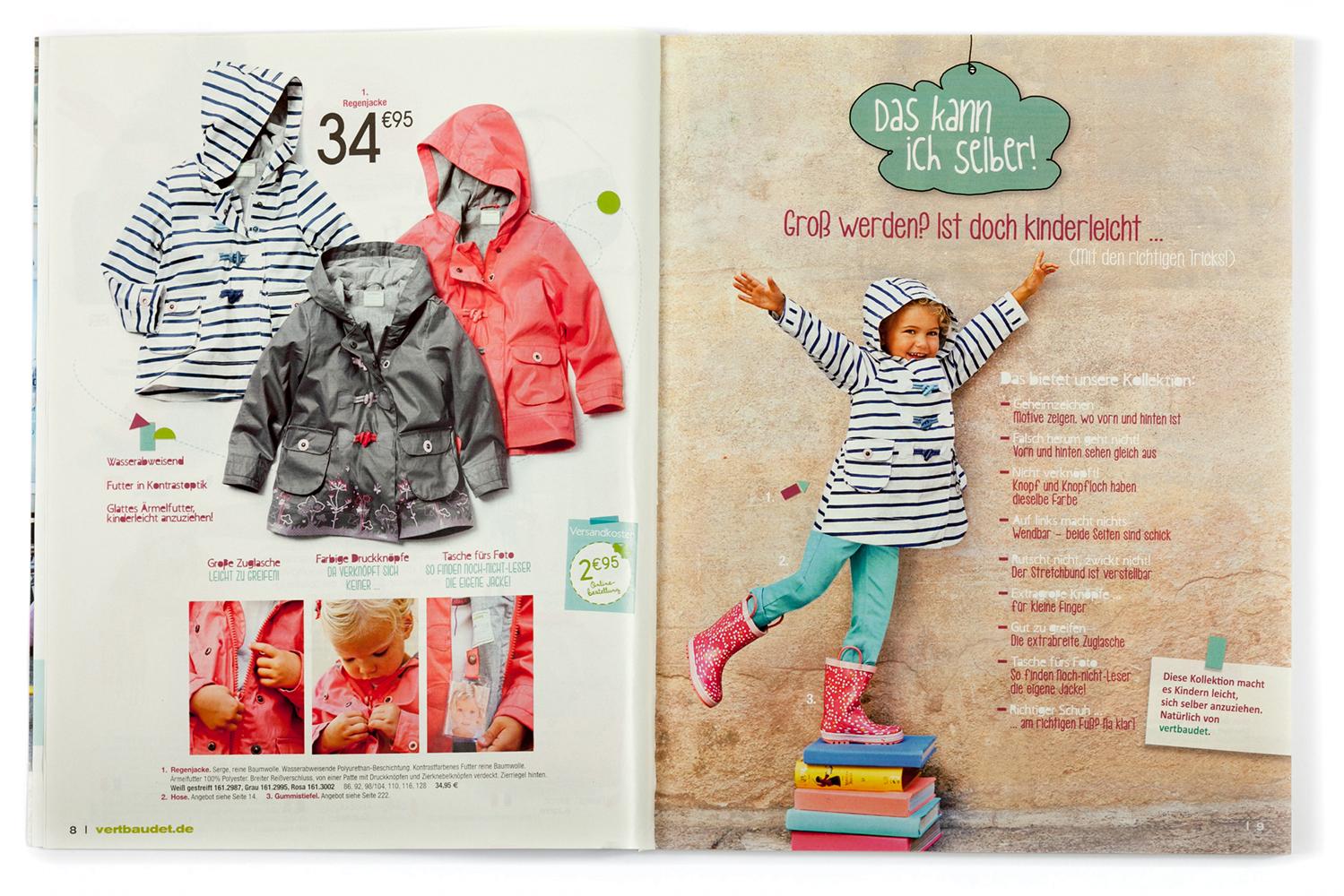 vertbaudet Katalog Kleidung Frühjahr/Sommer 2015