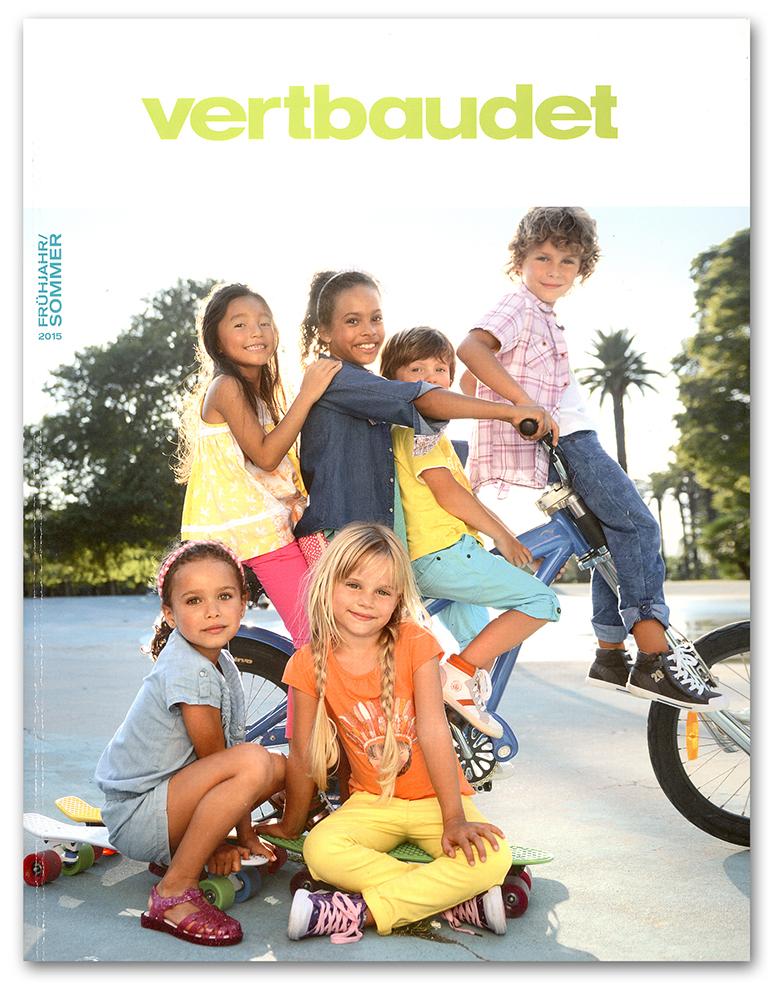 vertbaudet Katalog Kleidung Frühjahr/Sommer 2015 Titel